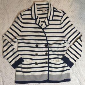 BANANA REPUBLIC COCOON Nautical Jacket